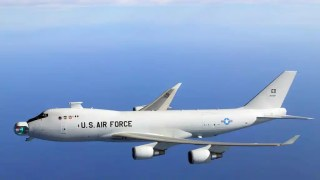Boeing YAL-1A, United States aircraft, with a laser on the nose