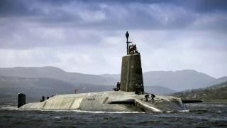 HMS Vigilant, belonging to the Vanguard class