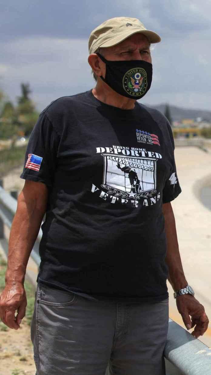 El director de la Casa de Apoyo a Veteranos Deportados, José Francisco López.
