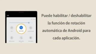 Control rotacion para Android