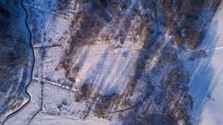 Fotografía aérea del Valle de la Muerte.