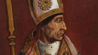 El Cardenal Cisneros como arzobispo.