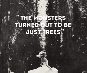 Image result for monsters turned out to be just trees