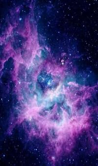 colors, galaxy, pretty, purple, wallpaper