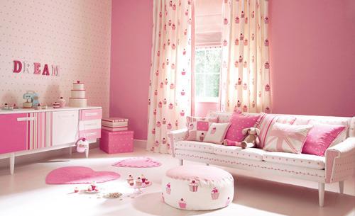 bedroom, cupcake, cute, pink, pretty