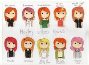 hairstyles hayley williams paramore