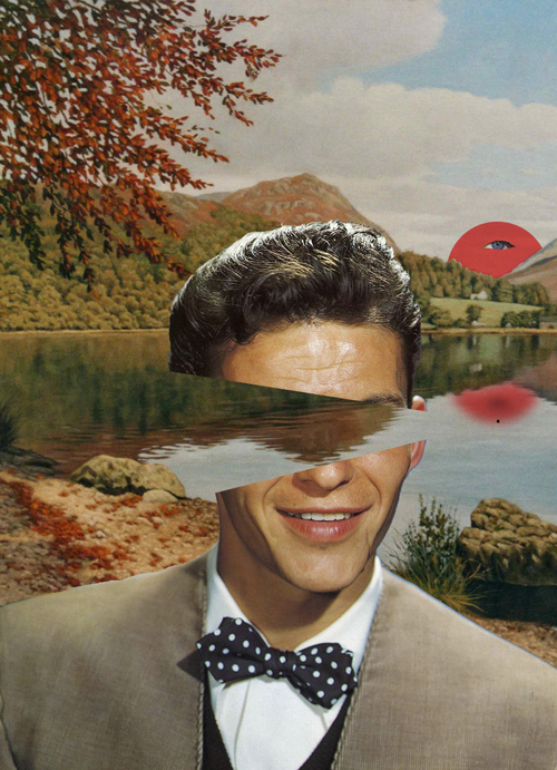 How To Make A Gif Your Wallpaper Iphone Art Collage Frank Sinatra Funny Human Image 172712
