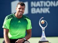 Tsonga beats Federer to cap stunning week and win Rogers Cup
