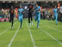 He never loses: Bolt's team beats Yuvi and Co in exhibition cricket match