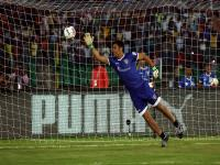 Photos: When MS Dhoni showed that he hasn't lost his goalkeeping touch