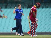 Woakes' five-for helps England thump West Indies in World Cup warm-up