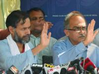 AAP to take action against Yadav, Bhushan for organising Swaraj Samvad
