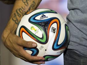 World Cup 2014 ball 'Brazuca' unveiled in Brazil