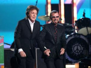 Watch: Paul McCartney and Ringo Starr perform at the Grammies
