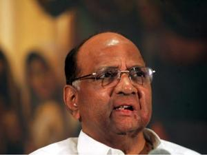 NCP supremo Sharad Pawar files nomination for Rajya Sabha