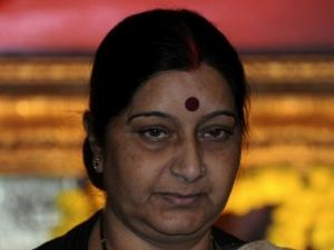 MP: BJP leading in 26 seats, Swaraj ahead by over 1 lakh votes