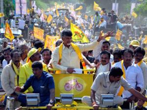 Chandrababu Naidu meets Andhra Governor to discuss govt formation
