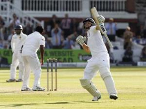 Root century puts England on top in first Test against Sri Lanka
