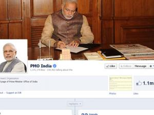 Social Modi: PMO India Facebook page gets over million 'likes' in 4 days