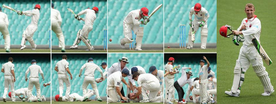 Australian batsman Hughes dies after being struck on the head by bouncer