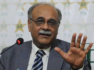 File picture of Najam Sethi. AFP