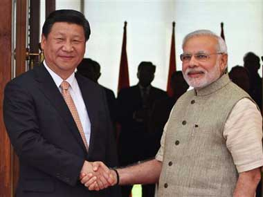 File image of Xi Jinping and Narendra Modi. AP