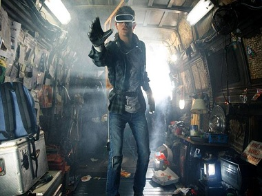 Still from the film, Ready Player One. Image from Facebook
