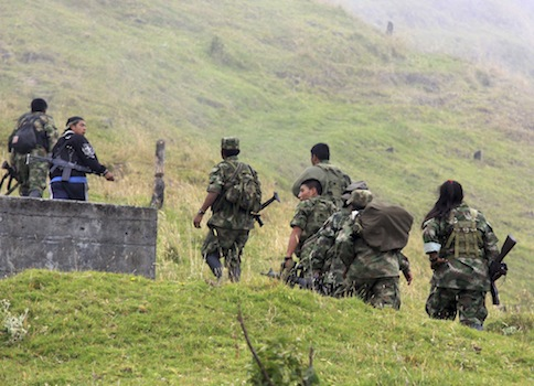 Guerrillas of the Revolutionary Armed Forces of Colombia, FARC linked to Hezbollah