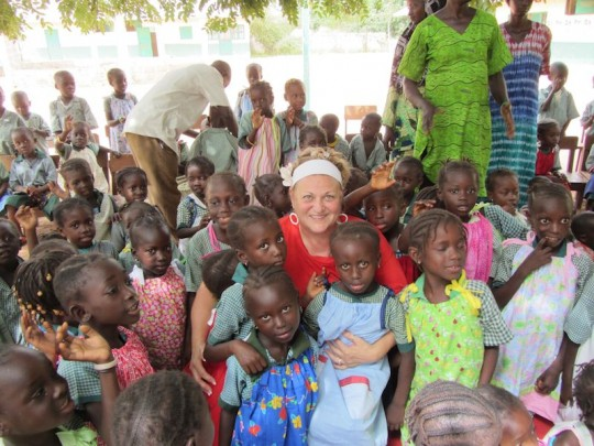 This Christian woman sews dresses for little girls in Africa. DISGUSTING. GROSS. UGH. / AP