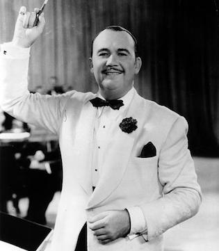 American jazz bandleader Paul Whiteman
