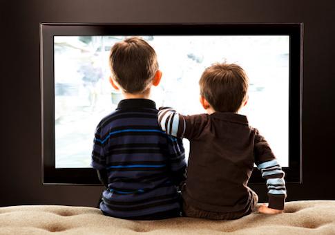 kids watch tv