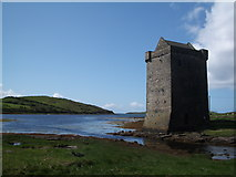 Rockfleet Castle (Carraig-an-Cabhlaigh) by Keith Salvesen