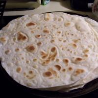 White Flour Tortillas Recipe