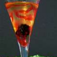 Lava Lamp Vanilla Or Peach Martini Recipe