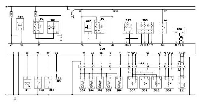Схема тормозной системы альфа ромео 156