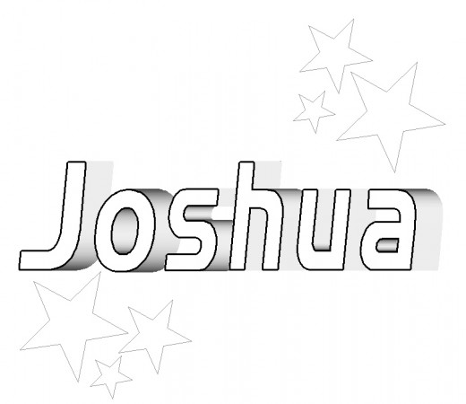 Joshua Bible Coloring Coloring Pages