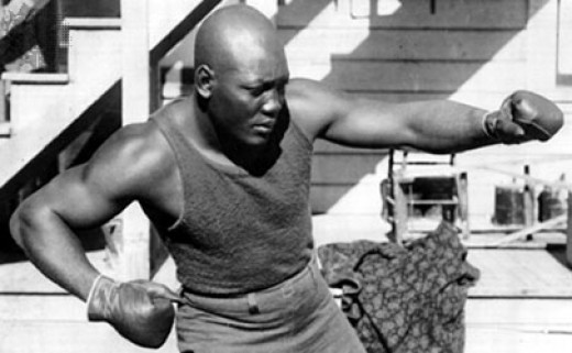 Number Four Boxer of all time - Jack Johnson