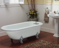 Vintage Tub and Bath Fixtures, with Photos