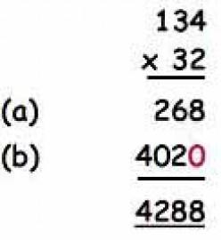 Lattice Method Of Multiplication Steps