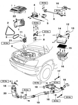 2000 Lexus Rx300 Engine Parts Diagram, 2000, Free Engine