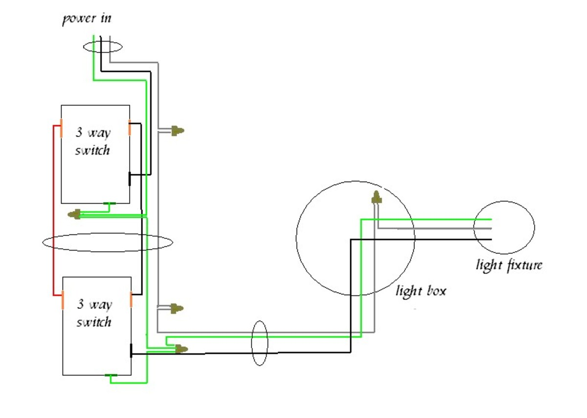 How To Wire A 4 Way Light Switch, With Wiring Diagram