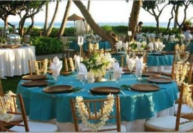Hawaiian Wedding Reception Ideas