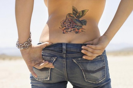 Sexy Lower Back Tattoos For Girls With Lower Back Bird Tattoos Pictures Body