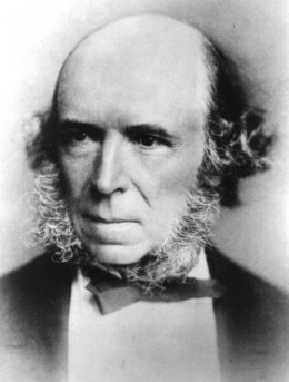 the study of sociology herbert spencer summary