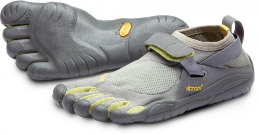 These are comparable to my first pair of Vibrams, which lasted about a year of pretty regular running.