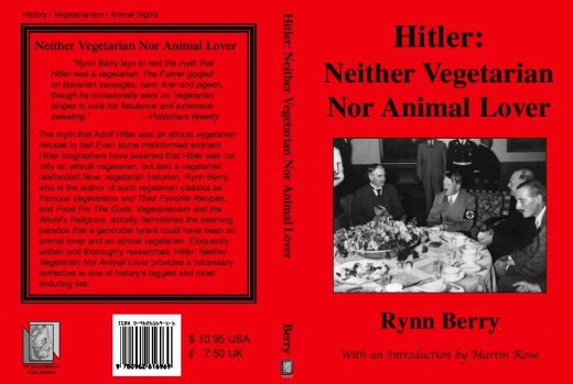 Hitler ate meat. Hitler was not a vegetarian. Adolf Hitler was not an animal lover. This is now verified as a false myth. Hitler was a Meat-Eater.