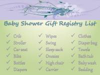 Baby Shower Gift Ideas: Baby Shower Gift Registry List Ideas