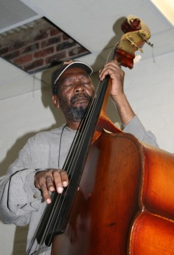 Music binds me up and frees me, It loses me and finds me: Master bassist Ernest Mothle at work