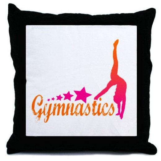 Gymnastics Themed Bedroom and Bedding