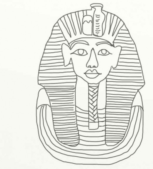 King Tut Coloring Pages Coloring Pages